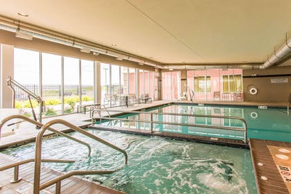 Indoor heated pool with hot tub | Cambria Hotel Rapid City near Mount Rushmore