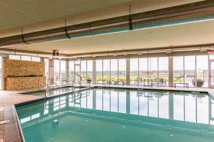Indoor heated pool | Cambria Hotel Rapid City near Mount Rushmore