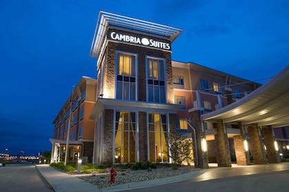 Night view of hotel | Cambria Hotel Rapid City near Mount Rushmore
