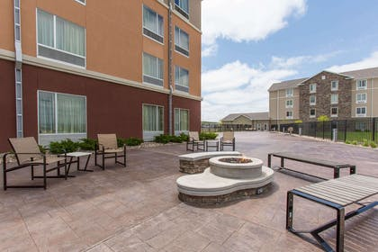 Relaxing patio area | Cambria Hotel Rapid City near Mount Rushmore