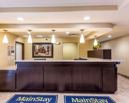 Front desk | MainStay Suites