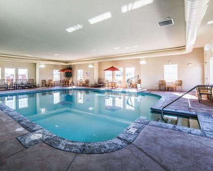 Indoor pool | MainStay Suites
