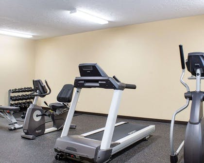 Fitness center with cardio equipment | Econo Lodge