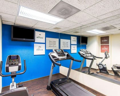 Fitness center | Comfort Suites Cookeville