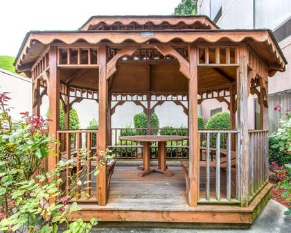 Relax in the hotel's gazebo | Comfort Suites Cookeville