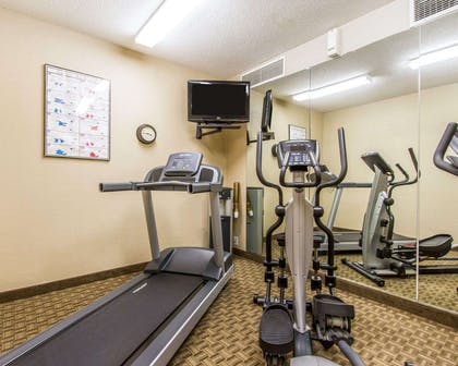 Fitness center | MainStay Suites Brentwood