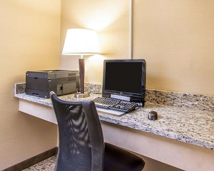 Business center with free wireless Internet access | MainStay Suites Brentwood