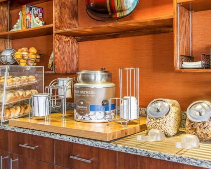 Assorted breakfast items | MainStay Suites Brentwood
