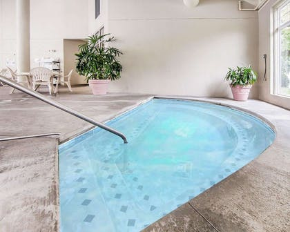 Indoor heated pool with hot tub | MainStay Suites Conference Center