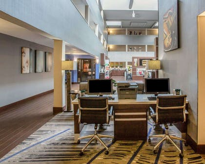 Business center with high-speed Internet access | Quality Suites Nashville Airport