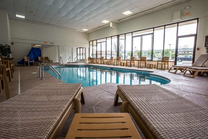 Relax by the pool | Comfort Inn & Suites At Dollywood Lane