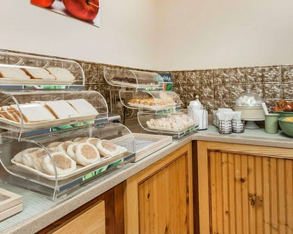 Assorted breakfast items | Quality Inn And Suites Dollywood