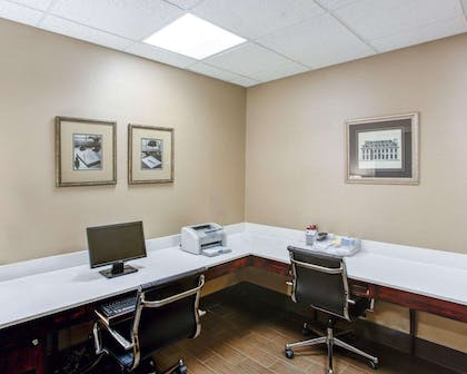 Business center with free wireless Internet access | Comfort Suites