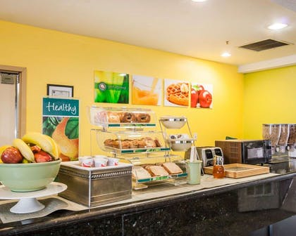 Assorted breakfast items | Quality Suites Near Wolfchase Galleria