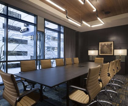 Meeting Room | The Porter Portland - Curio Collection by Hilton