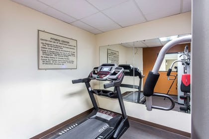 Exercise room with cardio equipment | Comfort Inn & Suites Cookeville