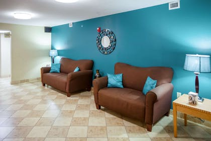 Lobby with sitting area | Mainstay Suites