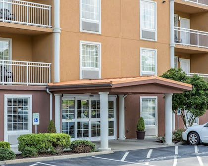 Hotel entrance | Mainstay Suites