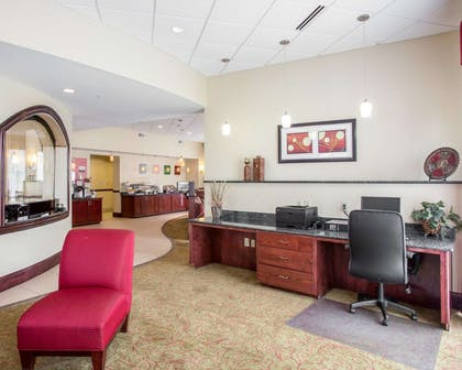 Business center with free wireless Internet access | Comfort Suites Mount Juliet