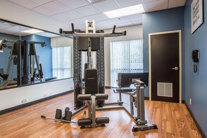 Exercise room with cardio equipment | Comfort Suites Kingsport