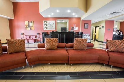 Spacious lobby | Comfort Suites Kingsport