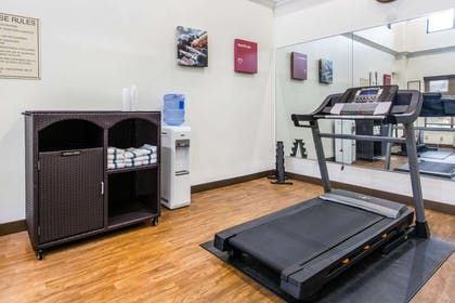 Fitness center | Comfort Inn & Suites Airport-American Way