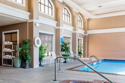 Relax by the pool   Comfort Inn & Suites Airport-American Way