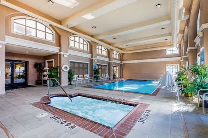 Indoor pool with hot tub | Comfort Inn & Suites Airport-American Way