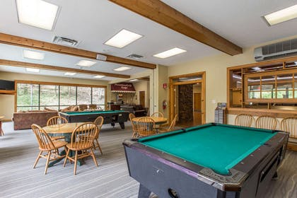 Pool table in the lobby | Bluegreen Vacations Mountain Loft, Ascend Resort Collection