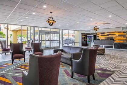 Spacious lobby | Clarion Inn & Suites Near Downtown