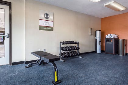 Fitness center | Clarion Inn & Suites Near Downtown