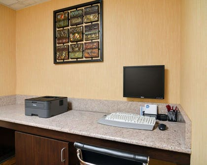 Business center with high-speed Internet access | Comfort Suites DFW Airport