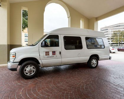 Hotel shuttle available | Comfort Suites Bush Intercontinental Airport