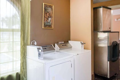 Guest laundry facilities | Quality Inn & Suites I-35 - near ATT Center