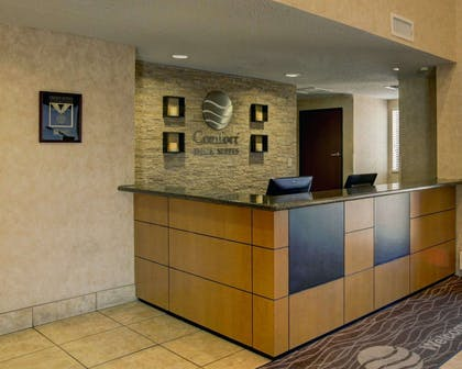 Front desk with friendly staff | Comfort Inn & Suites