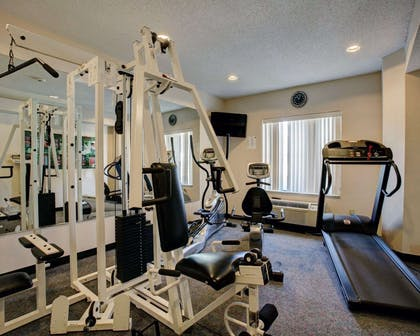 Fitness center with television | Comfort Inn & Suites