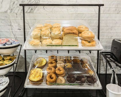 Assorted breakfast items | Econo Lodge Inn & Suites East