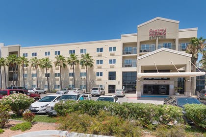 Hotel exterior | Comfort Suites South Padre Island