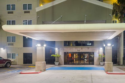 Night view of hotel | Comfort Suites South Padre Island