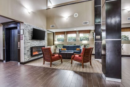 Lobby with sitting area | Comfort Inn & Suites Love Field - Dallas Market Center