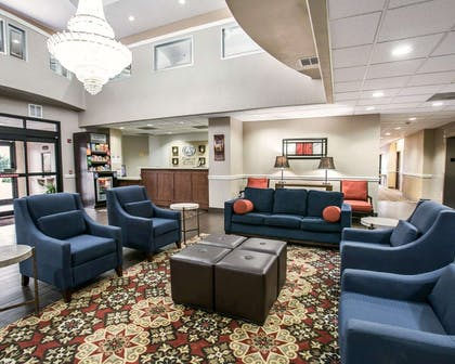 Beautifully decorated hotel | Comfort Suites Willowbrook