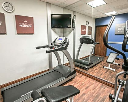 Fitness center with cardio equipment | Comfort Suites Willowbrook