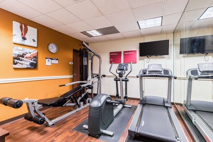 Fitness center | Comfort Suites Westchase