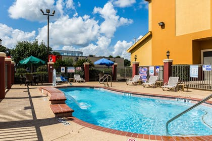 Relax by the pool | Comfort Suites Westchase