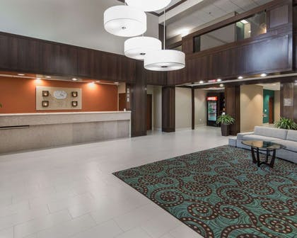 Spacious lobby   Comfort Suites Houston West at Clay Road