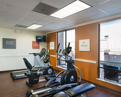Fitness center with television   Comfort Suites Houston West at Clay Road