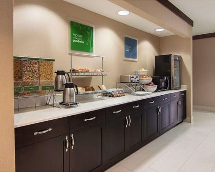 Free breakfast   Comfort Suites Houston West at Clay Road