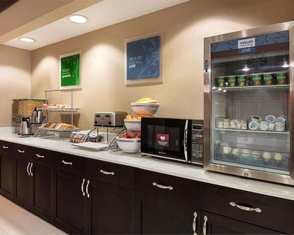 Breakfast counter   Comfort Suites Houston West at Clay Road