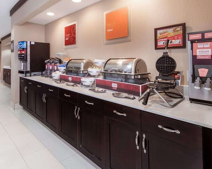 Hot and cold breakfast buffet   Comfort Suites Houston West at Clay Road