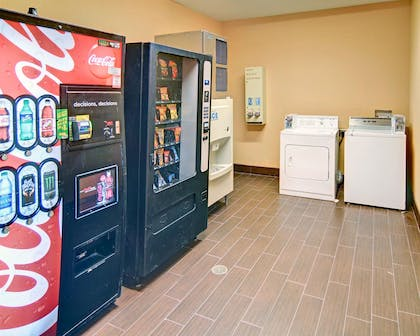Hotel Laundry and Vending Area | Comfort Suites Roanoke - Fort Worth North